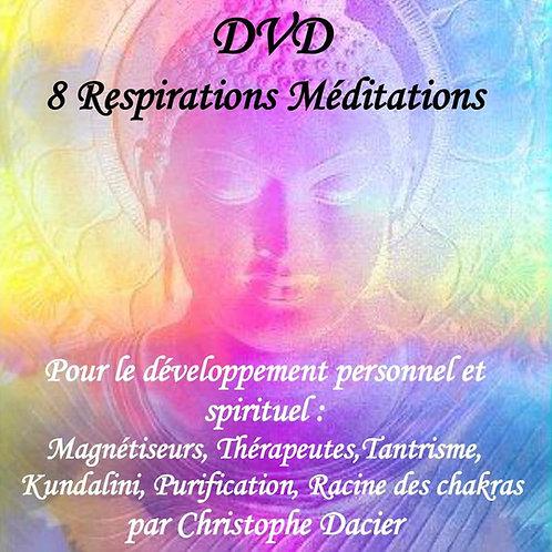 DVD 8 meditations respirations actives hara et chakras