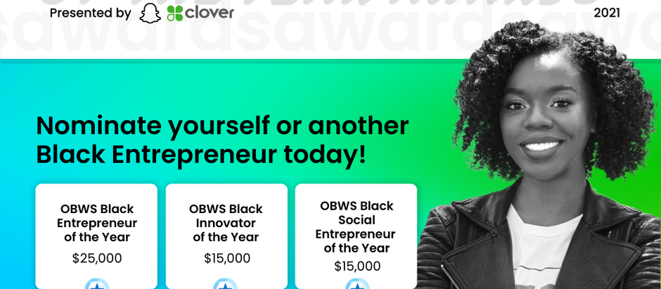 The OBWS Black Entrepreneur of the Year Awards Return For The Second Year in a Row!