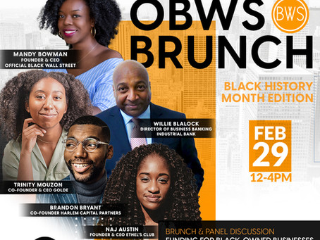 EVENT INVITE: The OBWS Black History Month Brunch