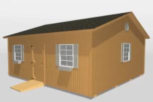 The Modular Cabin (Wood)