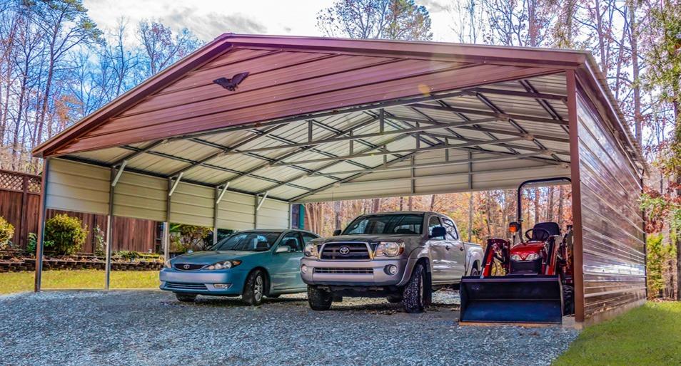 Triple Wide Carport