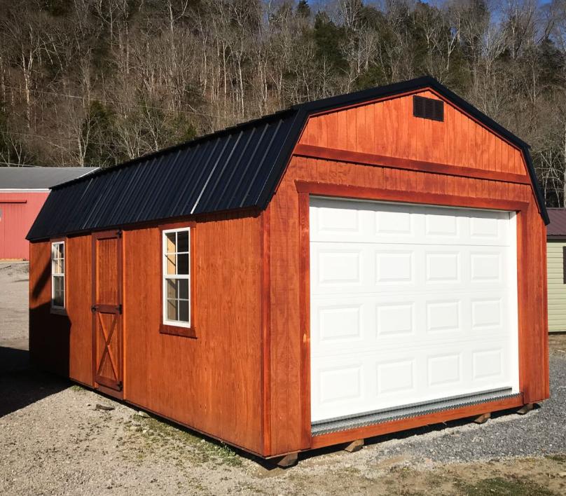 The High Barn Garage (Wood)