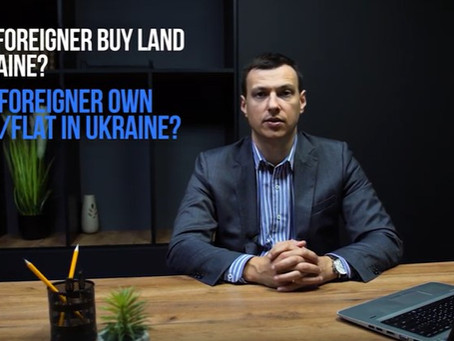 Video interview re legal peculiarities of buying real estate in Ukraine