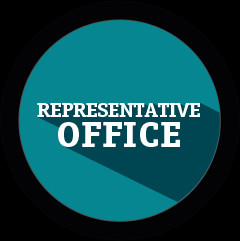 REP OFFICE AS A GROUND FOR TEMPORARY RESIDENCE