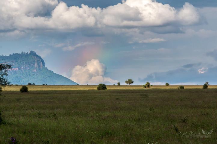 Regenbogen in Kenia