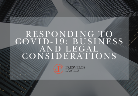 Responding to Covid-19: Business and Legal Considerations