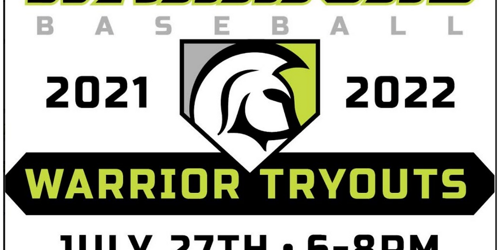 Warriors Baseball Club ALL AGES