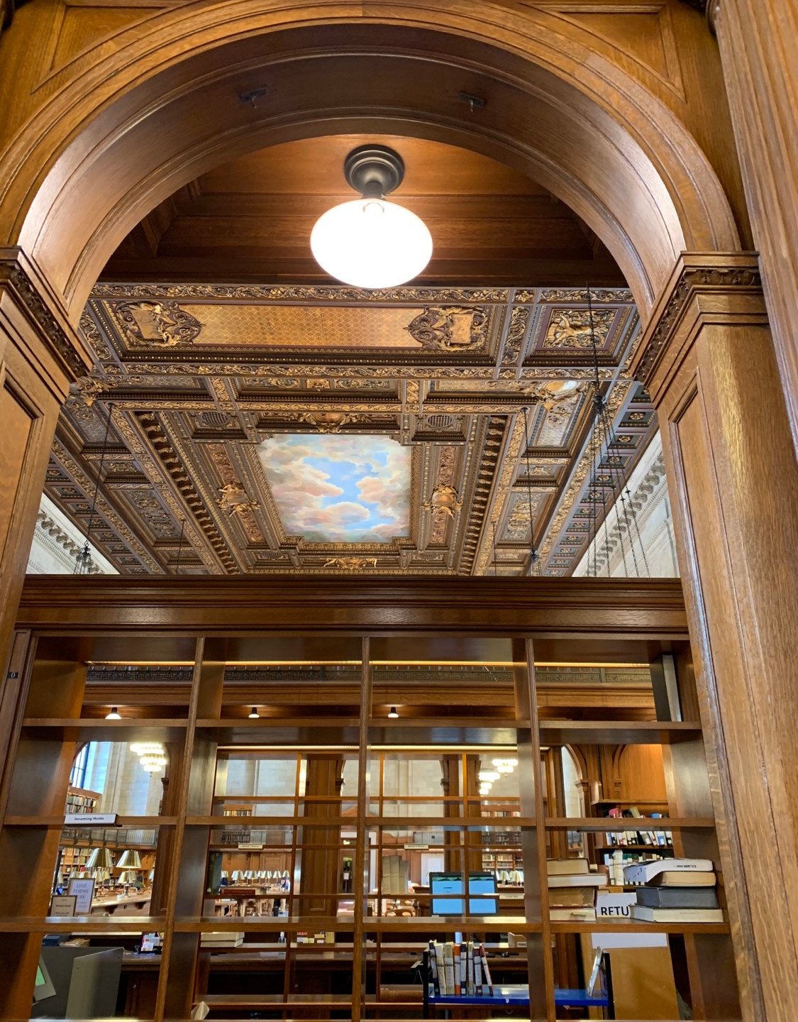 Central Public Library New York