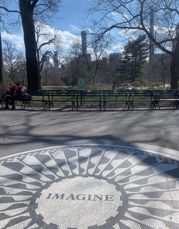 Imagine John Lennon Memorial