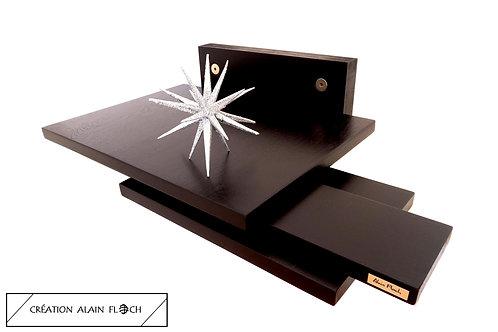 Étagère Murale Design ART N°20 Support pour Téléphone Portable Trousseau de Clés