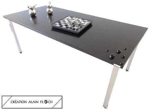 Table Basse ART N°12 Haute 43 cm Unique avec Sculpture