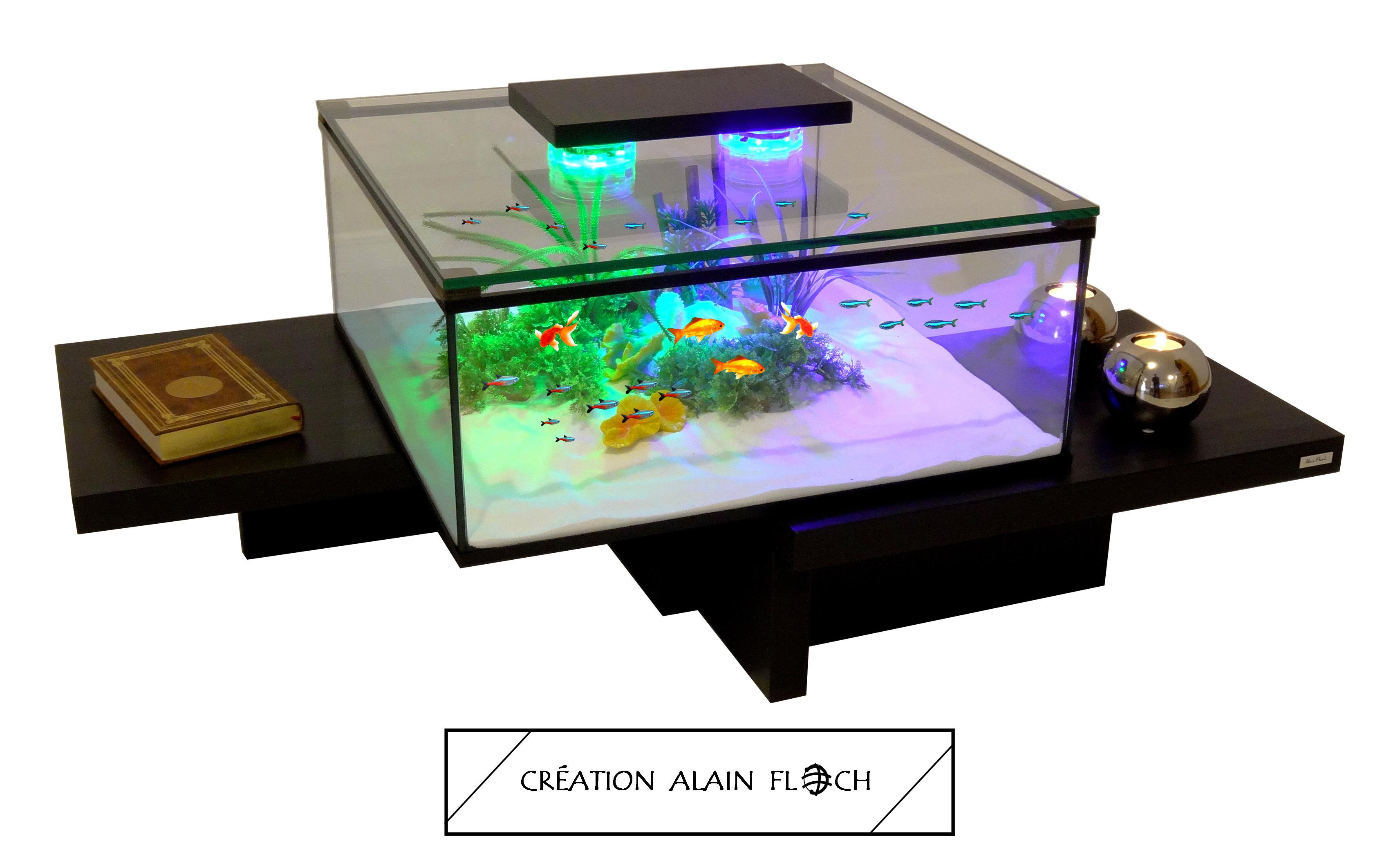 LED aquarium 20 EQUILIBRE Table basse 4AL3R5j