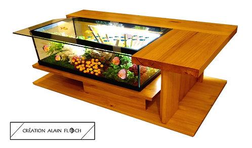 Table basse AMAZONE SUPREME Design Haut de Gamme de créateur Aquarium Terrarium