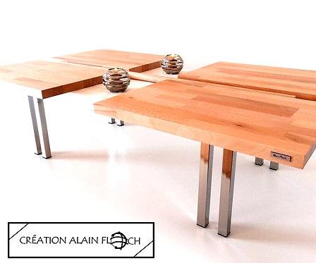 Table basse design FOREST 120 x 70 cm - Un bout de forêt chez vous !