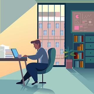 Darba eronomika un veselīga darba vietu iekārtošana Vesels Birojs