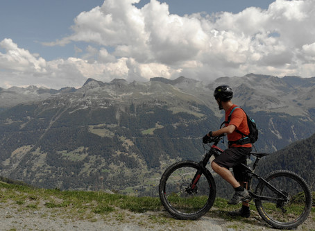 Mountain biking in Grimentz and Anniviers