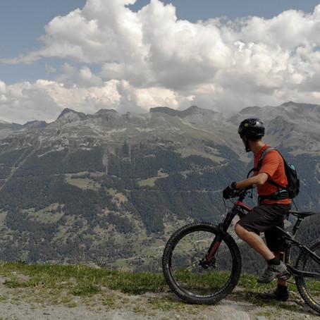 Mountain biking in Grimentz and Anniviers