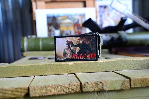 Waaagh! патч орков из Warhammer 40K с липучкой