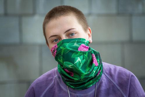 Женский шарф бафф-труба Клевер