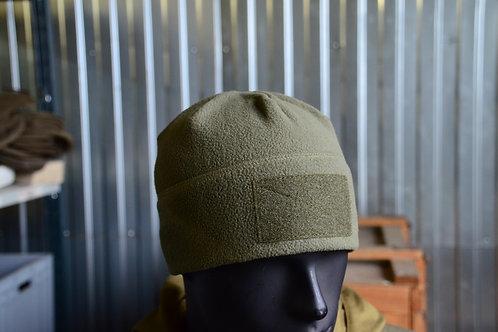 Флисовые шапки в расцветке Хаки