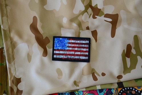 Патч флаг США с липучкой.