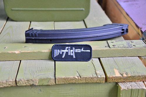 Патч, нашивка Infidel (Неверный) винтовка, с липучкой.