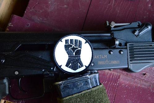 Имперские кулаки, патч с липучкой. Warhammer 40K