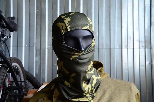 Балаклава подшлемник в камуфляже Березка