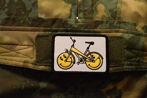 Патч, нашивка велосипед
