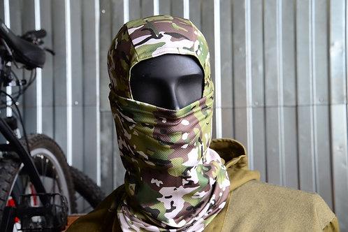 Балаклава, подшлемник, маска в камуфляже Мультикам, Multicam