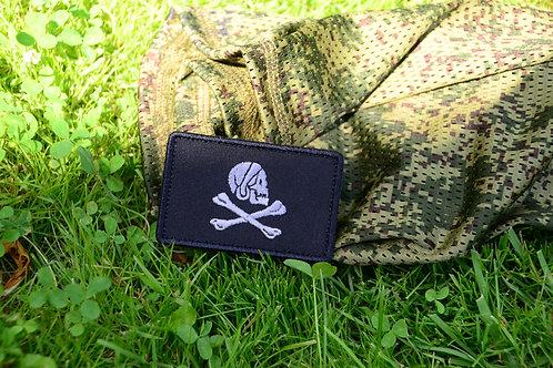 Патч флаг Английского  пирата Генри Айвери с липучкой.