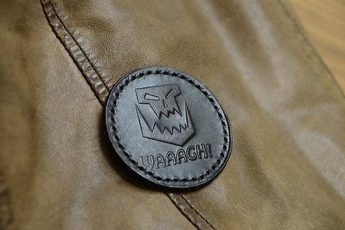 Waaagh! кожаный патч орков из Warhammer 40K с липучкой