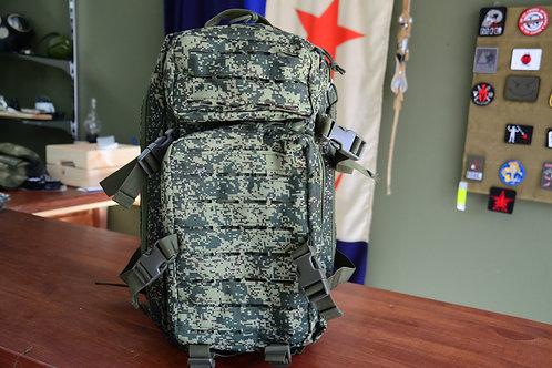Трехдневный штурмовой рюкзак в камуфляже ЕМР Цифровая Флора