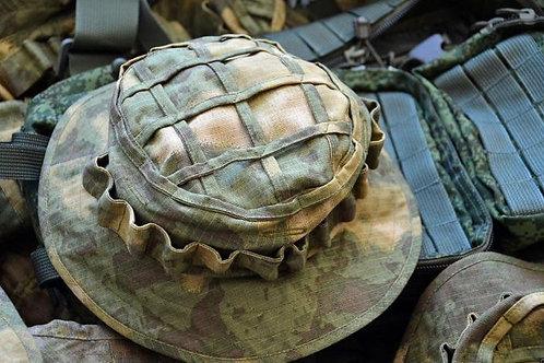 Панама снайпера, охотника в расцветке Ольха