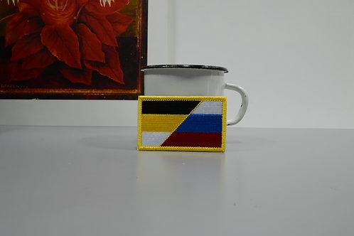 Патч, нашивка Российский триколор и Имперский флаг