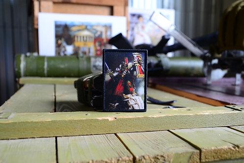 Патч, Инквизиция Warhammer 40K вышитый с липучкой.