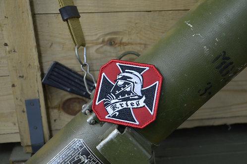 Высококачественный патч корпус смерти Крига с липучкой. Warhammer 40К