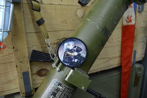 Патч, нашивка Girls Frontline, T-girls HK 416 с липучкой.
