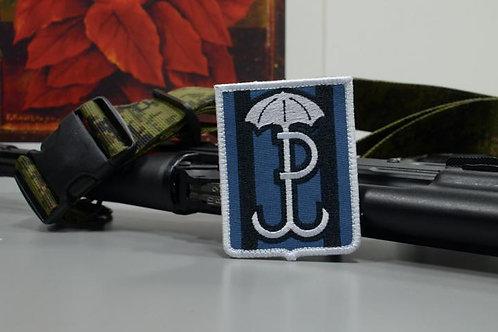 Голубая Польская котвица, спецназ гром-49 патч
