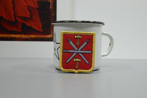 Патч, нашивка герб города Тула на липучке