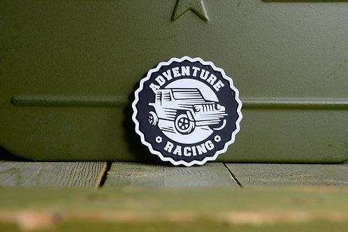 Патч, нашивка Adventure racing с липучкой