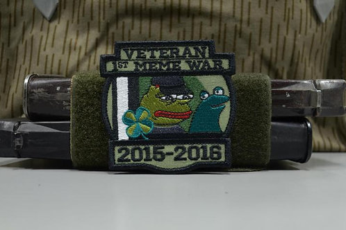 Нашивка, патч Ветеран Первой войны мемов 2015-2016.