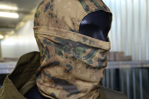 Балаклава, подшлемник, маска в камуфляже Мох (Росгвардия)