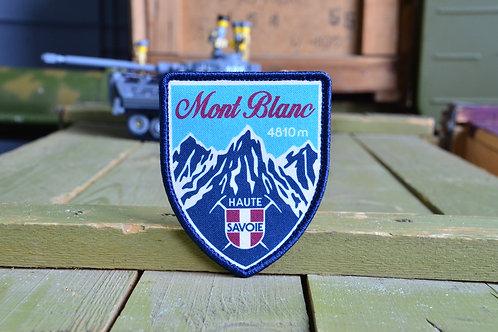 Патч, нашивка Mont Blanc 4810, с липучкой.
