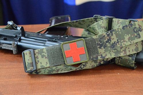 Патч красный крест для аптечки с липучкой.