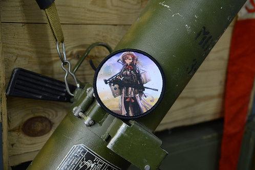Патч, нашивка Girls Frontline, T-girls Negev с липучкой.