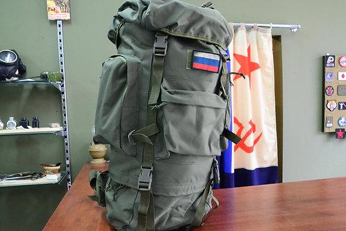 Рамный рюкзак  в Оливе, 65 литров