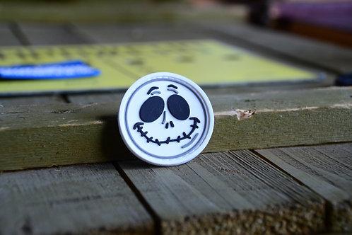 Halloween Jack ПВХ нашивка с липучкой.