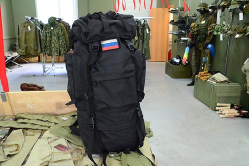 Черный рамный рюкзак