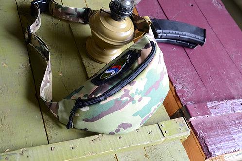Поясная сумка, подсумок в камуфляже Мультикам, Multicam